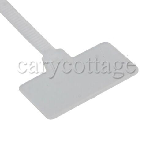 100 x Tag Zip Ties UL Approved Nylon 66  13 x 20mm