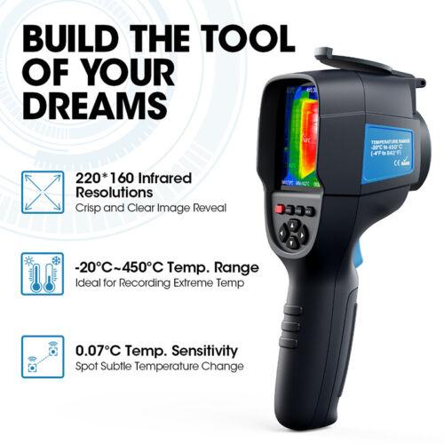 TOPDON Wärmebildkamera Infrarotkamera Kamera Infrarot Wärmebild IR Thermometer