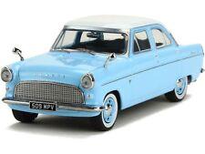TRIPLE 9/IXO - FORD CONSUL MK2 1959 LIGHT BLUE WHITE ROOF RHD 1:43 SCALE