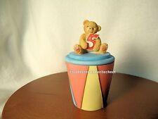 Cherished Teddies Covered Box Birthday Age 5  2001 NIB