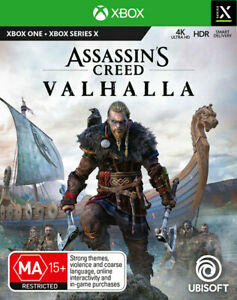Assassins Creed Valhalla Xbox Series X, Xbox One Game NEW