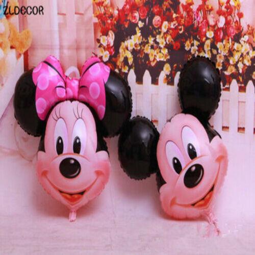 "25/""inch Disney Mickey//Minnie Mouse Giant Foil Balloons Kids Birthday  Desigions"