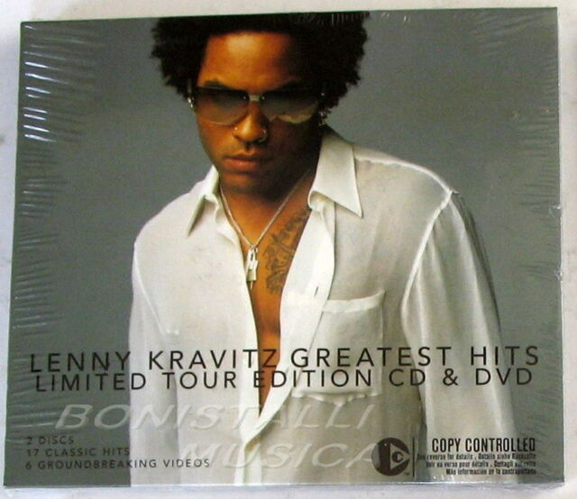 LENNY KRAVITZ - GREATEST HITS - Limited Tour Edition CD + DVD - Sealed