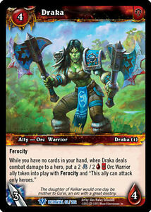 WOW WARCRAFT TCG BETRAYAL OF THE GUARDIAN : DRAKA X 4