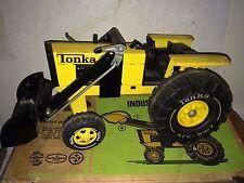 Vintage Tonka Pressed Steel Industrial Tractor No. 2531,Original Box,Excellent