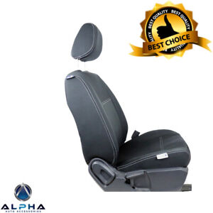 2017-19-Ford-Ranger-PX-MK2-Neoprene-Front-Rear-Seat-Covers-with-Blue-Stitching