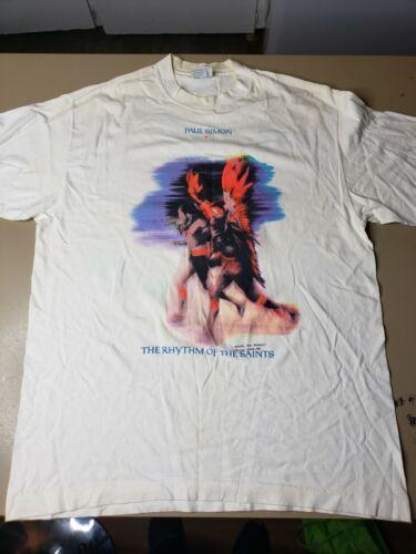 Vintage 1991 Paul Simon The Rhythm of The Saints T