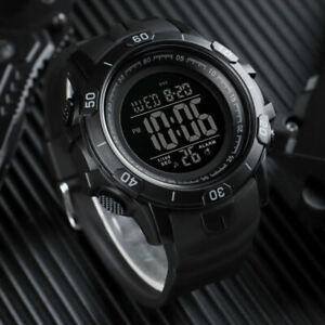 SKMEI-Men-039-s-Military-Large-Digital-Sport-Alarm-Date-Week-Wrist-Watch-Shockproof