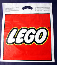 "ULTRA RARE VINTAGE 80'S BIG LEGO DUPLO PLASTIC SHOP BAG 19""X16"" NEW UNUSED NOS !"