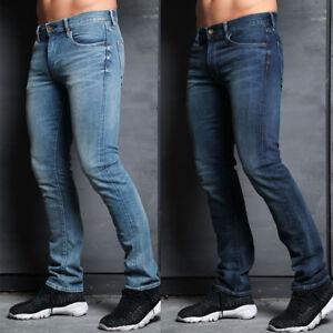 Simply-Jeans-Mens-Designer-Slim-Fit-Stretch-Branded-Fashion-Vintage-Denim-Jeans