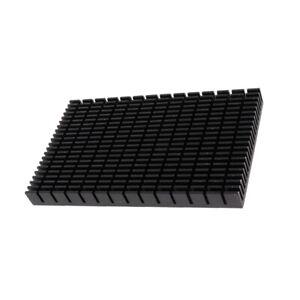 150x93x14-6mm-Aluminum-Heatsink-Cooling-Cooler-Black-For-CPU-IC-LED-Power