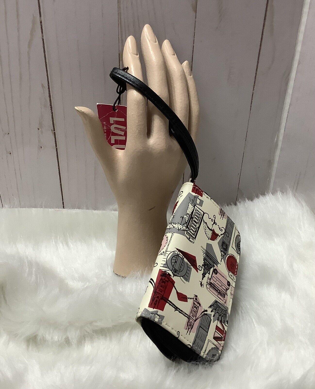 Lulu Vinyl Phone Case/Card Wristlet
