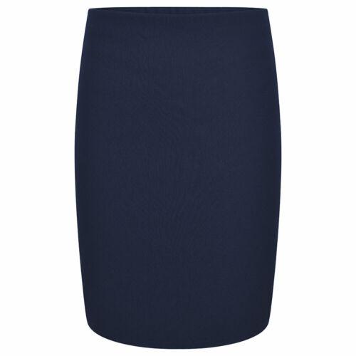 ZECO Girls Dress School Bengaline Skirt Ladies Business Office Wear Formal Skirt