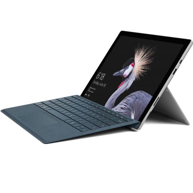 "Microsoft Surface Pro 4 i7 6650u 2.20Ghz 8Gb Ram 256Gb SSD Win 10 Pro 12.3"""