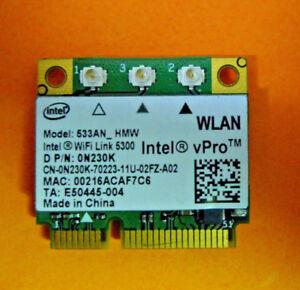 Dell Precision M6500 Notebook Intel WiFi Link 5300 WLAN Windows 7 64-BIT