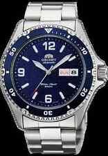 New Orient Blue Mako II Automatic Dive Silver Watch Men AA02002D, FAA02002D