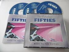 TIME LIFE MUSIC THE FABULOUS FIFTIES BACK TO THE FIFTIES 3 CD BOX SET 50 TRACKS