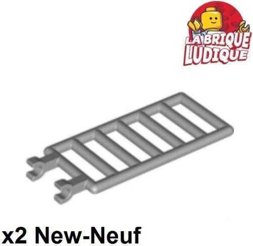 2x Bar grille barreaux barrière échelle ladder 7x3 gris//l b gray 6020 NEW Lego