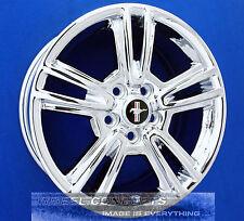 Ford Mustang 17 Inch Chrome Wheels 17 Rims Oem 3808 Ar3z1007d Ar3z1007c