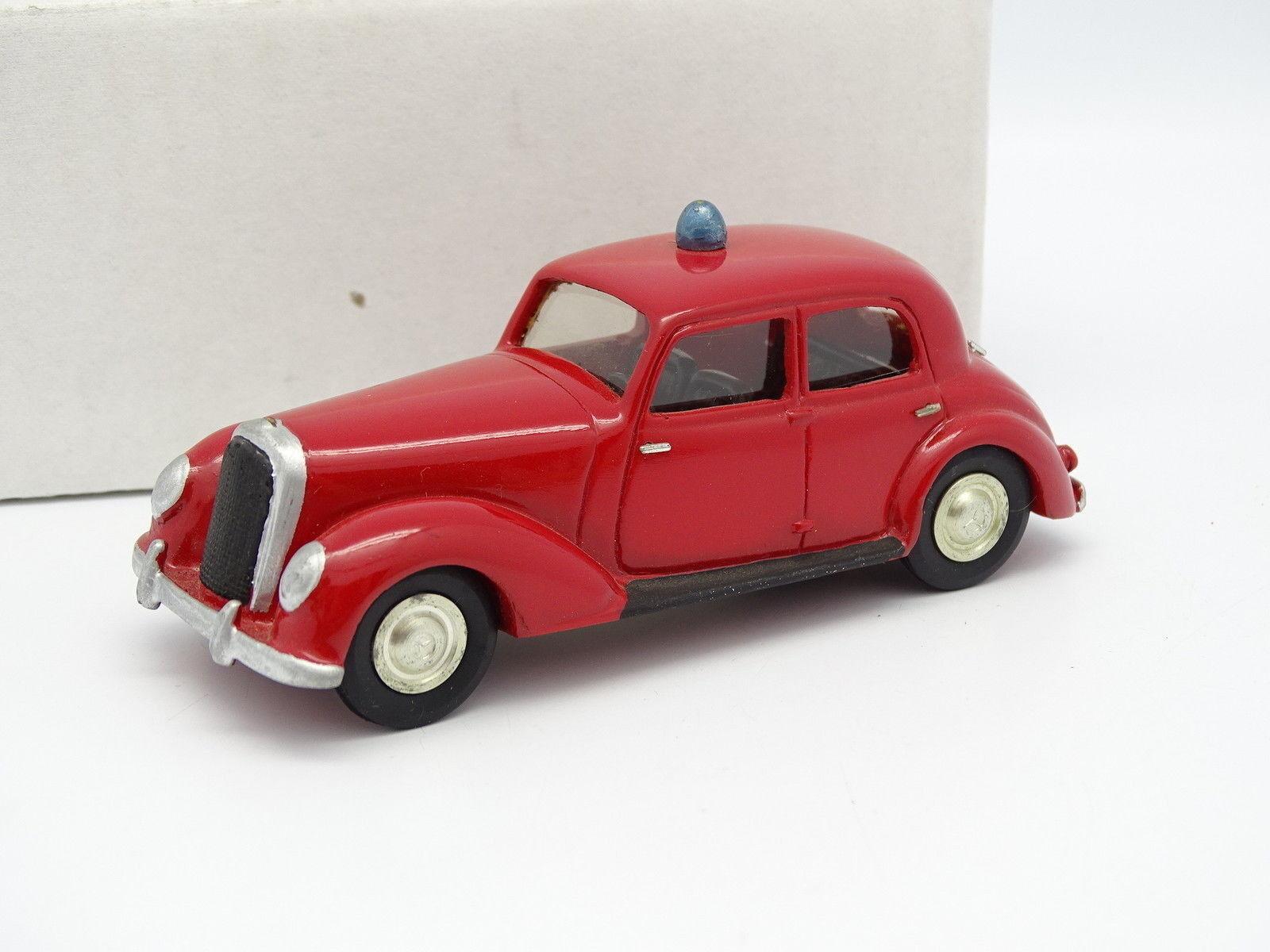 R. Modelli Kit Monté 1 43 - Mercedes 220 1938 Vigili del Fuoco Pompiers