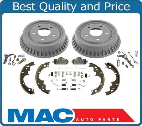 92-02 S10 Rear Wheel Drive Pick Up Brake Drum Kit Hardware Springs Wheel Adjust