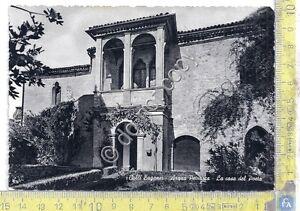 Cartolina-Postcard-Colli-Euganei-Arqua-Petrarca-1960