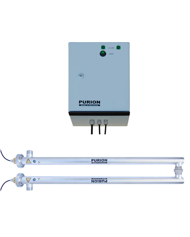 PURION 2500 H Dual Basic, UVC Anlage Integration in Warmwasserkeislauf