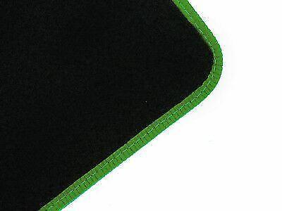 Tailored Fit Black Carpet Floor Mats 4pc Colour Trim Edge Set for Mercedes GLA