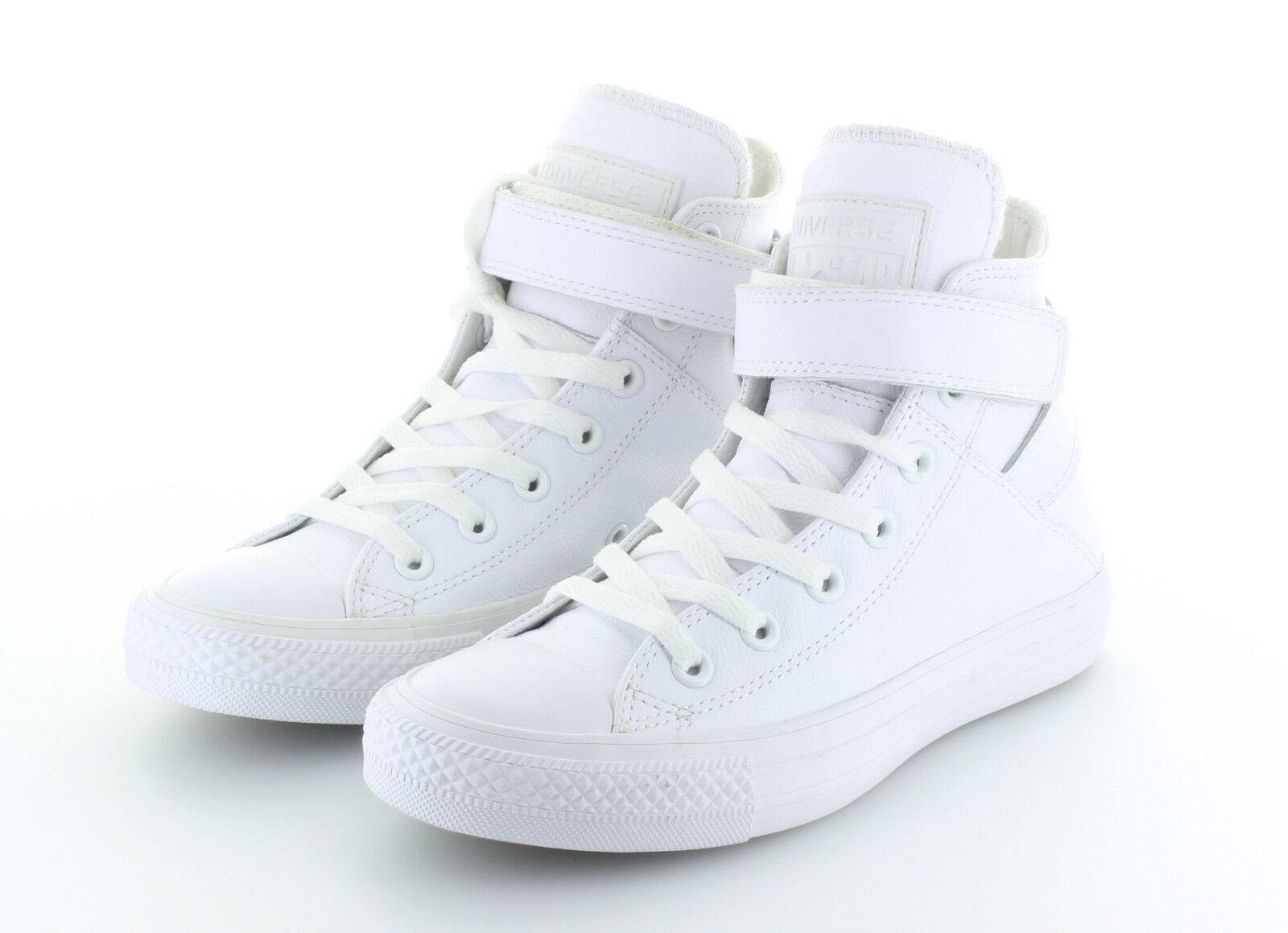 Converse CT AS Limited Edition Hi Brea Mono Leather Weiß Weiß Weiß Gr. 37,5   38,5 4e1972