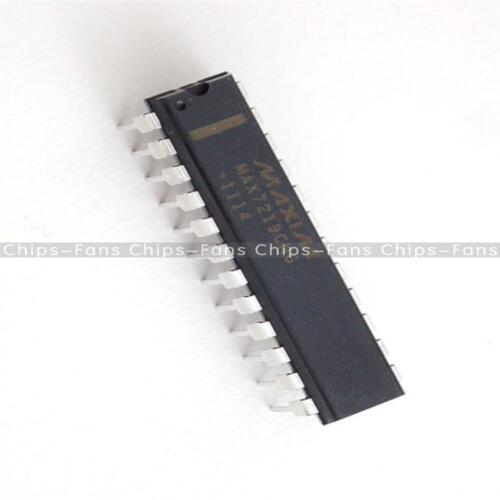 NEW 1//2//5PCS IC MAX7219CNG MAX7219 DIP-24 DRIVER LED DISPLAY 8DGT DIP