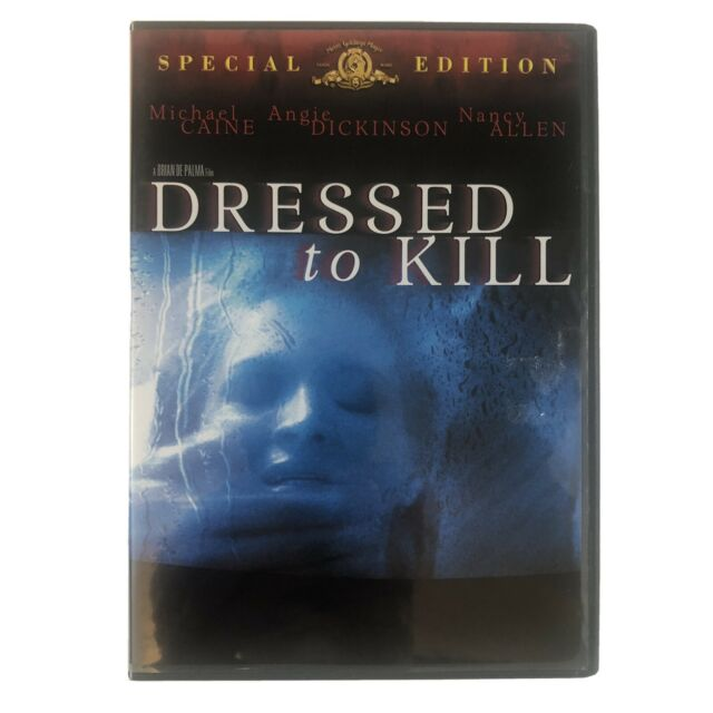 Dressed to Kill (DVD, 2001, Special Edition) Michael Caine Brian De Palma