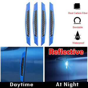 Blue-Reflective-Carbon-Fiber-Auto-Car-Side-Door-Edge-Protector-Guard-Sticker