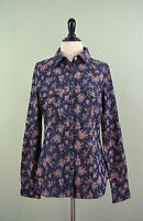 Band Of Gypsies Nordstrom Denim Button Roses Long Blouse Shirt M Western