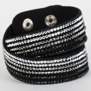 Image Is Loading Slake Crystal Wrap Bracelet Made W Swarovski