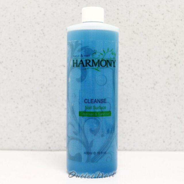 HARMONY GELISH GEL CLEANSE 16 oz/ 480 mL Nail Surface Cleanser Sanitizer 01251