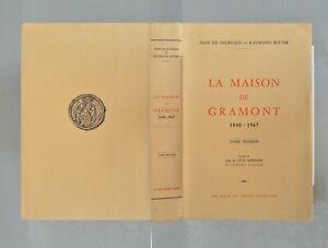 LA-MAISON-DE-GRAMONT-1040-1967-Tomes-1-et-2