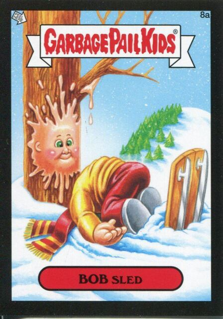 Garbage Pail Kids Mini Cards 2013 Base Card 109a Charming CHESSIE