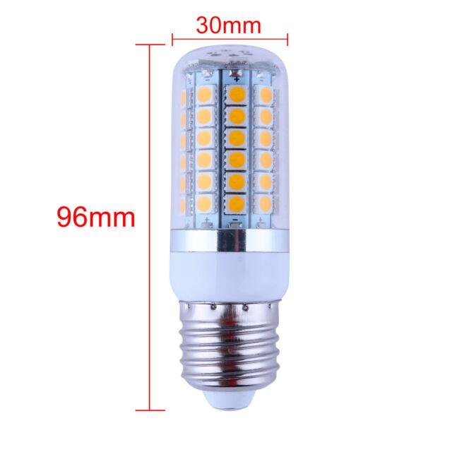 1/5/10x E27 27/48/69 5050 SMD LED Light Bulb 4W/6W/8W 220V Warm/Cool White&Cover