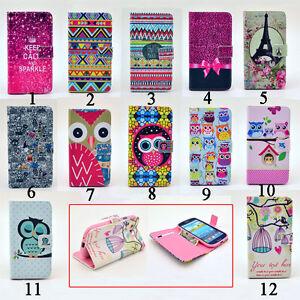 Designer-Flip-Leather-Wallet-Case-Rubber-Stand-Magnet-Cover-for-Samsung-iPhone