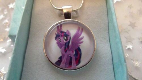 Twilight Sparkle My Little Pony Collana Con Ciondolo Pendente 2 a 4 Y regalo festa