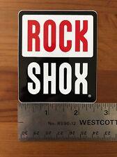 Rock Shox Shock Sticker Decal Fork Judy Pike Recon SId XX  MTB