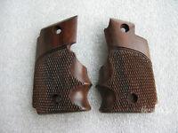 Wrap Round Grip Fits Sauer P238 Checkered Hardwood Handmade Free Ship