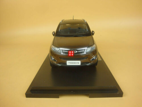 1//18 China Chery tiggo 5 suv  model brown color gift