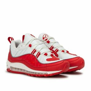 f6b7c25a418c5f Nike Air Max 98 OG UNIVERSITY RED 640744-602 Men Running Shoes 100 ...