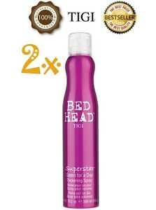 PACK-OF-2-TIGI-Superstar-Queen-For-A-Day-Thickening-Spray-311ml-Authorised