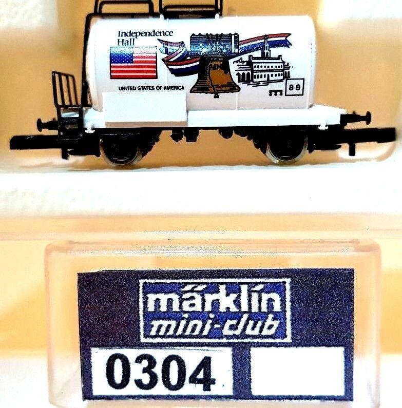 Z Scale Marklin Mini-Club 0304 Independence Hall Tank Car