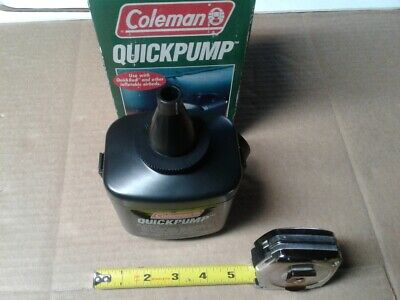 Coleman QuickPump  4D Battery Powered Pump Camping Air beds Inflatable