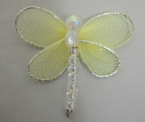 Nylon Mesh Dragonfly 3-D Decor Arts and Craft Home Decor Jewelry 25//50  HBN-20