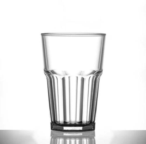 Mehrwegbecher 0,5L Caipi Becher 6 x glasklar Plastik unzerbrechbar Mehrweg 202