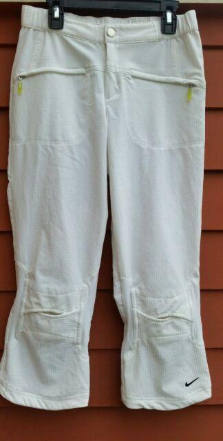 Nike Sphere Dry Pants White Capri, XS